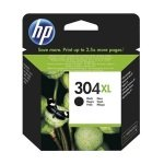 HP 304XL Black Original Ink Cartridge - High Yield 300 Pages - N9K08AE