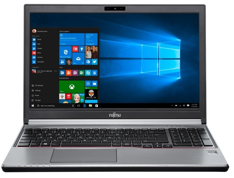 "Fujitsu Lifebook E736 Laptop Intel Core i76500U 2.5GHz 8GB RAM 512GB SSD 13.3"" FHD NoDVD Intel HD WIFI 4GLTE Windows 10 Pro"