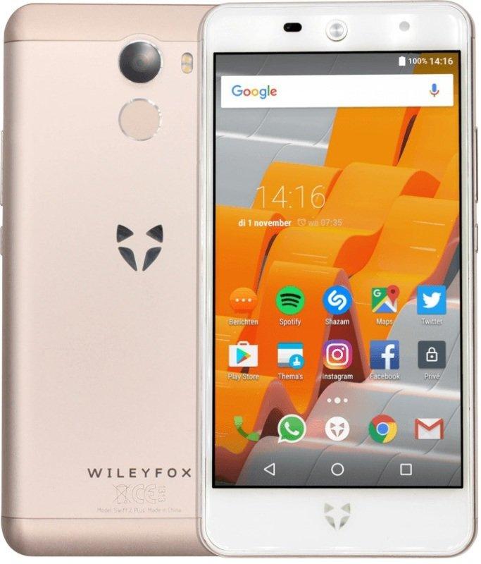 Wileyfox Swift 2 Plus 32GB Phone - Champagne Gold