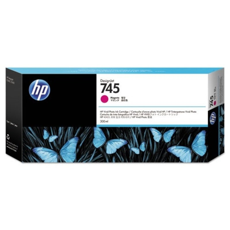 HP Ink/745 300-ml Magenta