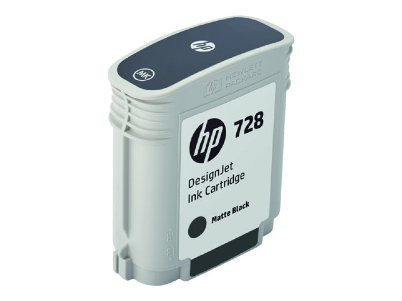 HP 728 69-ml Matte Black DesignJet Ink Cartridge