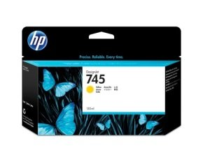 HP Ink/745 130-ml Yellow