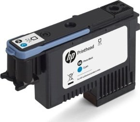 HP Ink/744 Photo Black+Cyan Printhead
