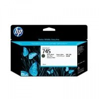HP 745 Matte Black Original Ink Cartridge - Standard Yield 130ml - F9J99A