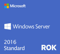 Windows Server 2016 Standard (HPE ROK)
