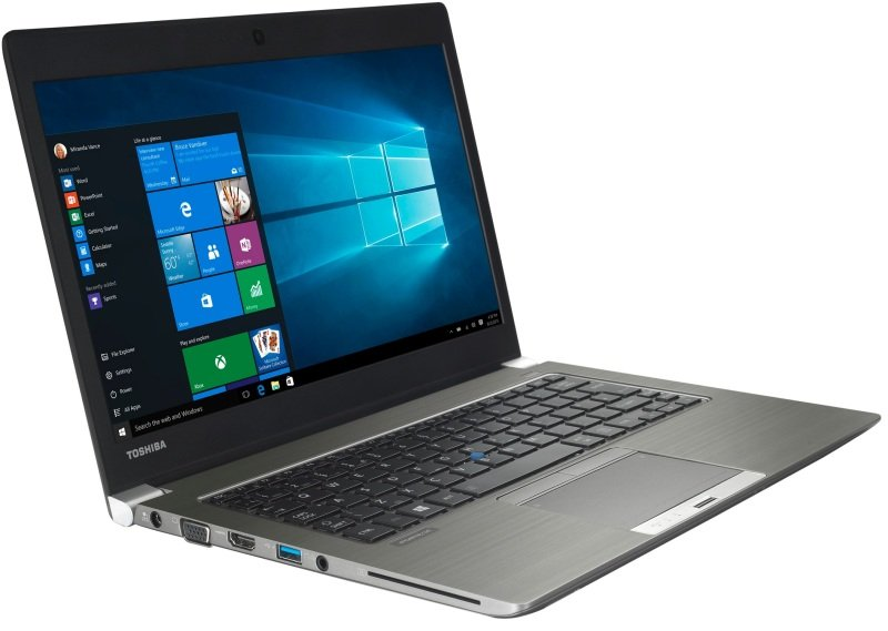 Toshiba Portege Z30C154 Ultrabook Intel Core i56300U 2.4GHz 8GB RAM 256GB SSD 13.3&quot FHD NoDVD Intel HD WIFI Webcam Bluetooth Windows 7  10 Pro 64bit
