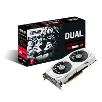 Asus AMD DUAL-RX480-O8G Graphics Card