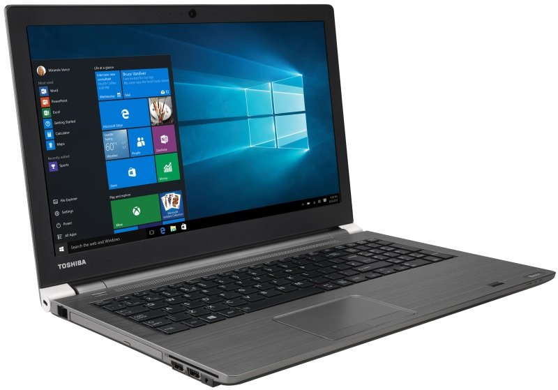 "Toshiba Tecra A50C1GF Laptop Intel Core i56200U 2.3GHz 8GB RAM 256GB SSD 15.6"" LED DVDRW Intel HD WIFI Webcam Bluetooth Windows 7  10 Pro"