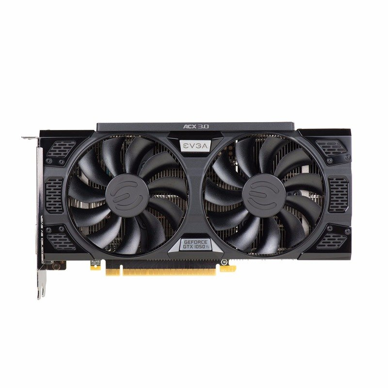 EVGA Nvidia GeForce GTX 1050 Ti 4GB SSC GAMING ACX 3.0