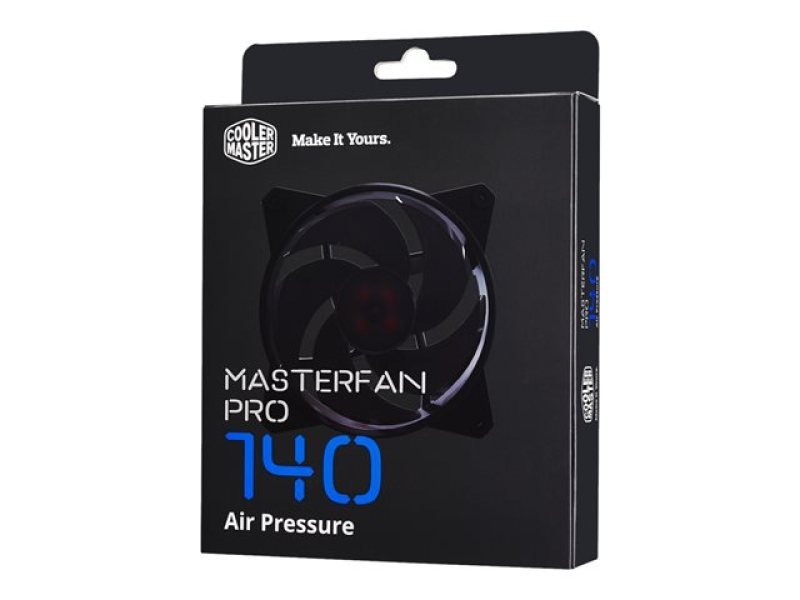 Cooler Master Masterfan Pro 140 Air Pressure Computer Case Fan