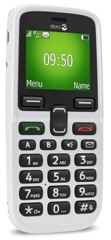Doro 5030 Mobile Phone - White