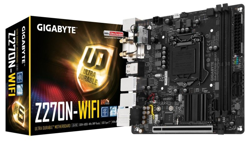 Gigabyte Intel Z270N-WIFI LGA 1151 mITX Motherboard