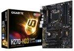 Gigabyte Intel GA-H270-HD3 LGA 1151 ATX Motherboard