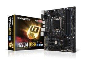 Gigabyte Intel H270M-DS3H Socket 1151 mATX Motherboard