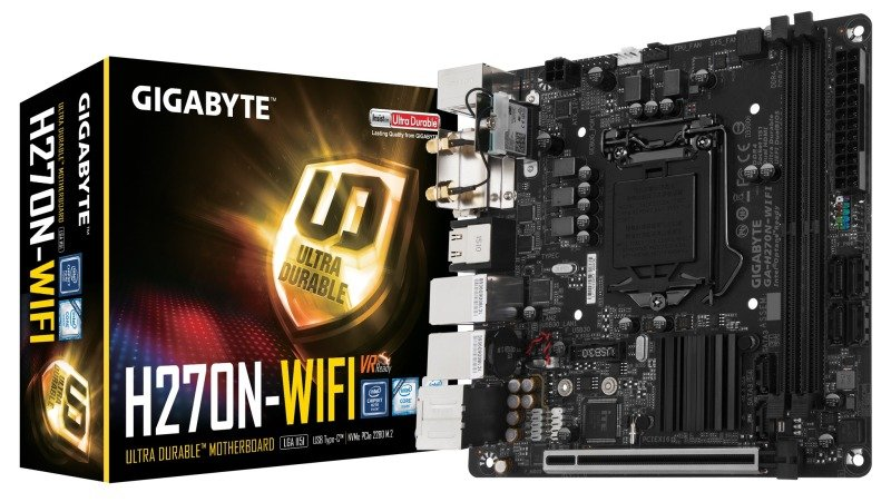 Gigabyte Intel GAH270NWIFI Socket 1151 mATX Motherboard