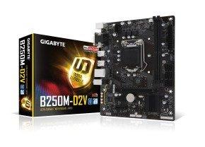 Gigabyte Intel GA-B250M-D2V Socket 1151 mATX Motherboard