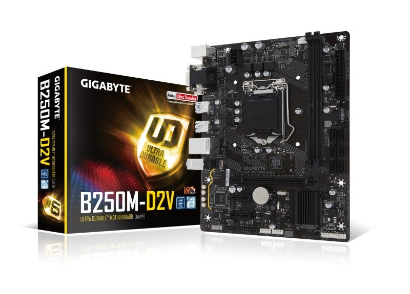 Gigabyte Intel GAB250MD2V Socket 1151 mATX Motherboard