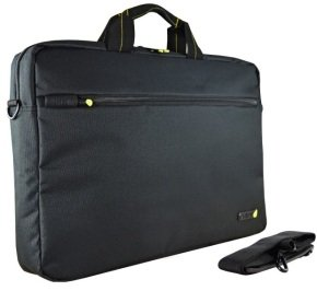 "Techair 15.6"" Black Laptop Shoulder Bag"