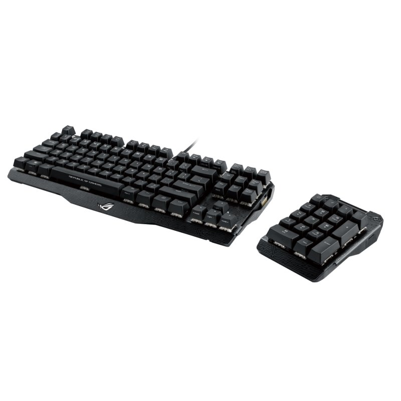 ASUS ROG Claymore Mechanical Gaming Keyboard - MX Red