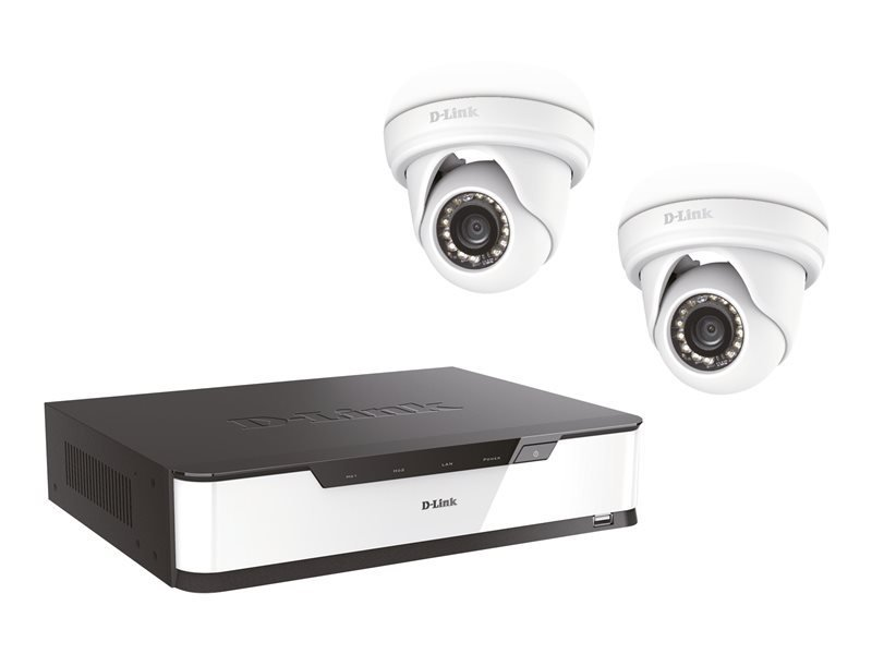 D-Link Vigilance Starter kit - DVR + camera(s) - wired