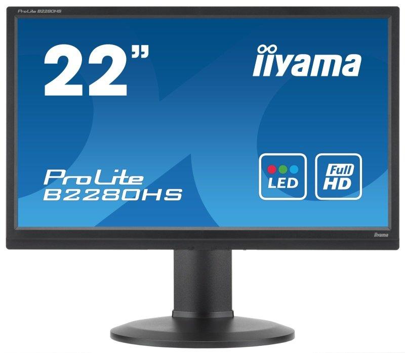 "Iiyama Prolite B2280HS 21.5"" Full HD LED LCD Monitor"