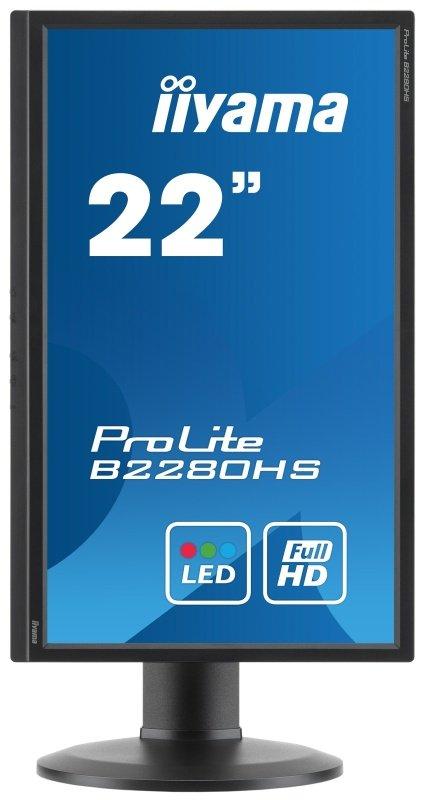 "Iiyama Prolite B2280HS 22"" Full HD LED LCD Monitor"