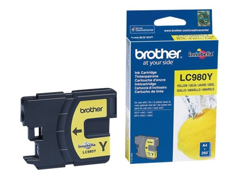 *Brother LC980Y Yellow Ink Cartridge for DCP145C