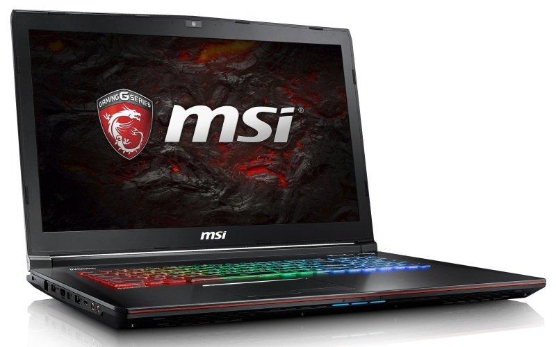 "MSI GE72 7RE(Apache Pro)011UK Gaming Laptop Kabylake i77700HQ 2.8GHz 16GB DDR4 128GB SSD 1TB HDD 17.3"" FHD DVDRW NIVIDA GTX 1050Ti 4GB WIFI Windows 10 Home"