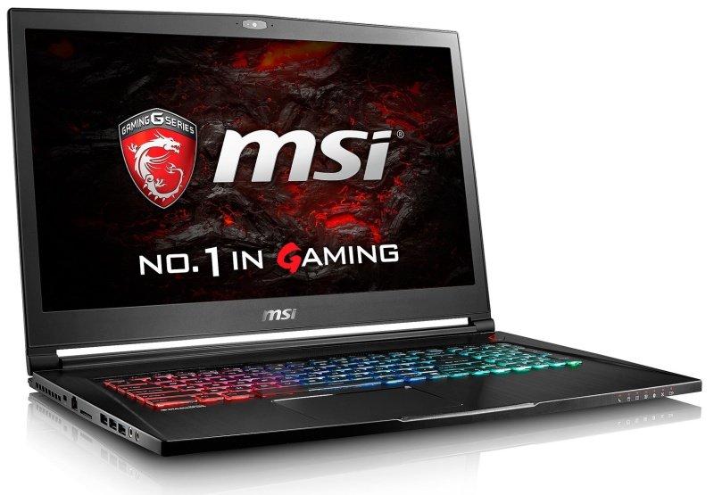 "MSI GS73VR 7RF(Stealth Pro)208UK Gaming Laptop Kabylake i77700HQ 2.8GHz 16GB DDR4 256GB SSD 2TB HDD 17.3"" FHD NoDVD NIVIDA GTX 1060 6GB WIFI Windows 10 Home"