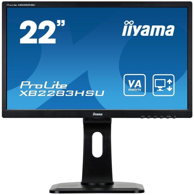"Iiyama Prolite XB2283HSU-B1DP 21.5"" LED Monitor"