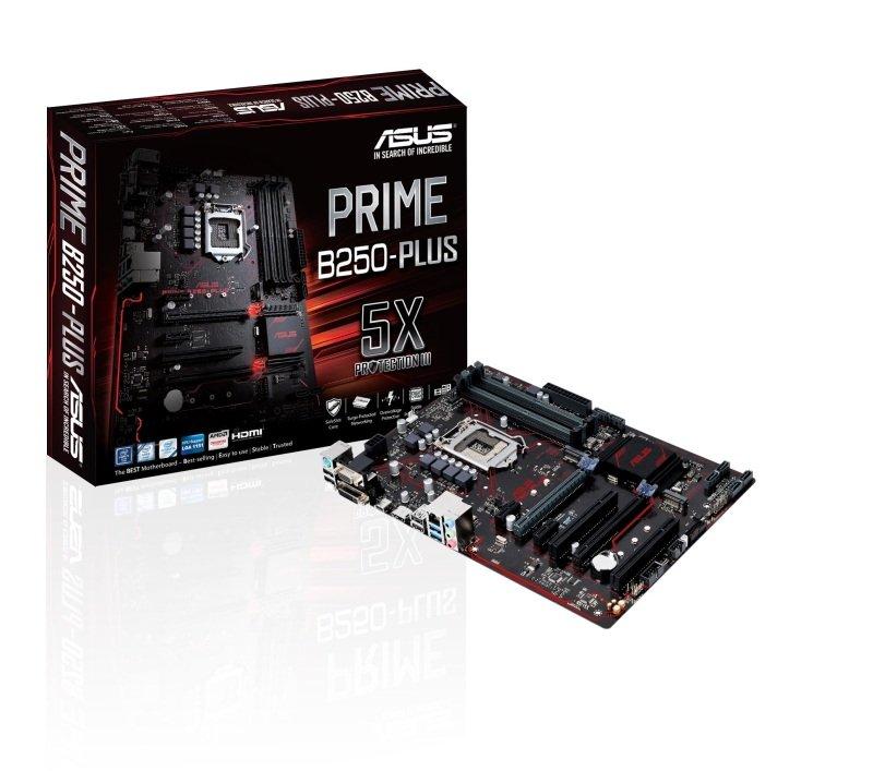 Asus Intel PRIME B250PLUS LGA 1151 ATX Motherboard