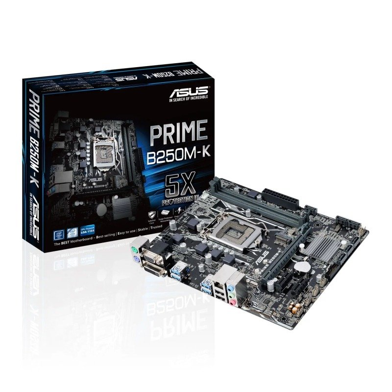 Asus Intel PRIME B250MK LGA 1151 mATX Motherboard