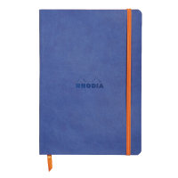 Rhodiarama Notebook Soft Cover A5 160 Pages Sapphire