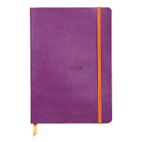 Rhodiarama Notebook Soft Cover A5 160 Pages Violet