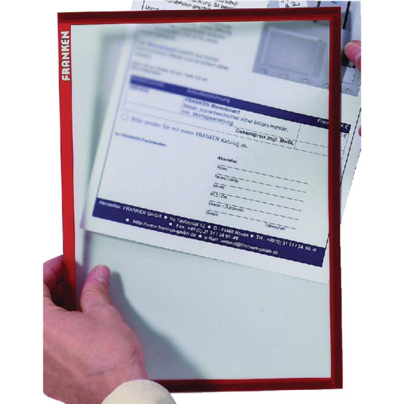 Franken Document Holder A4 Red