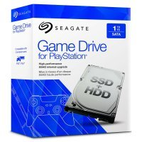EXDISPLAY Seagate 1TB SSHD Game Drive for PlayStation - Internal Solid State Hybrid Drive upgrade for PS3/PS4