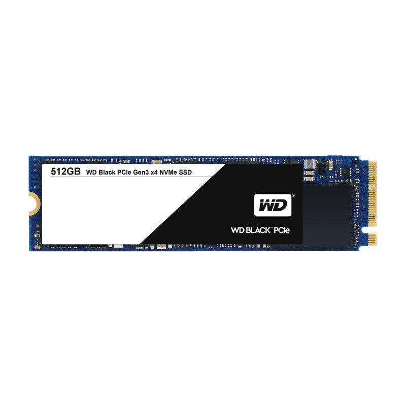 WD Black PCIe NVMe 512GB SSD