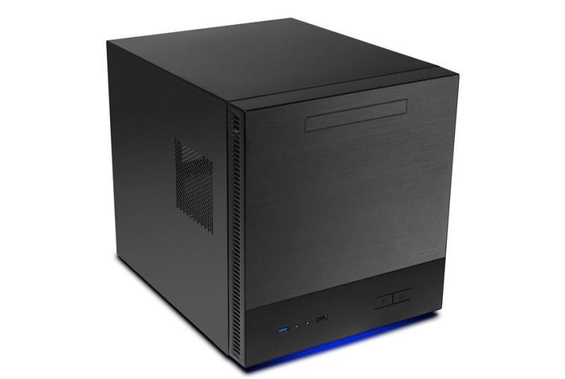 Antec ISK600M mATX Cube Case  Black