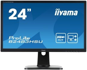 "Iiyama Prolite B2483HSU 24"" Full HD LED Monitor"