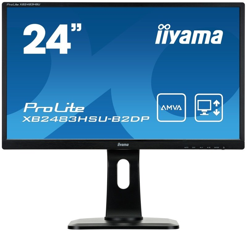 "Iiyama Prolite XB2483HSU-B2DP 24"" LED Monitor"