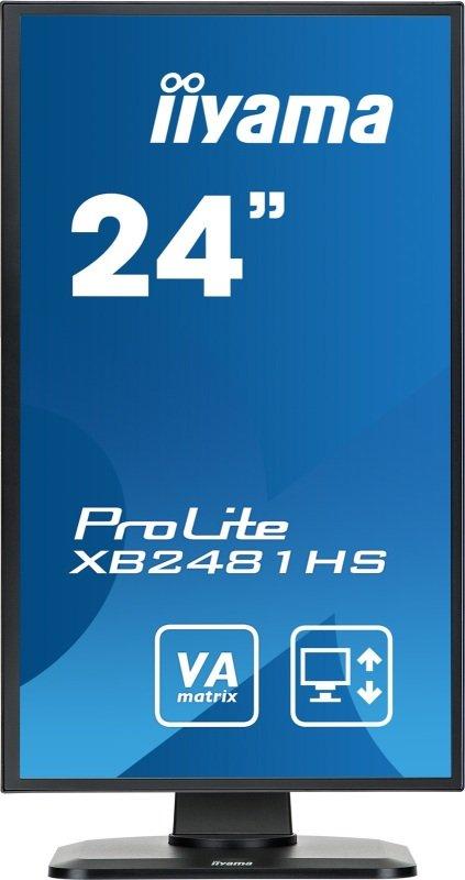 "Iiyama Prolite XB2481HS-B1 24"" Full HD LED Monitor"