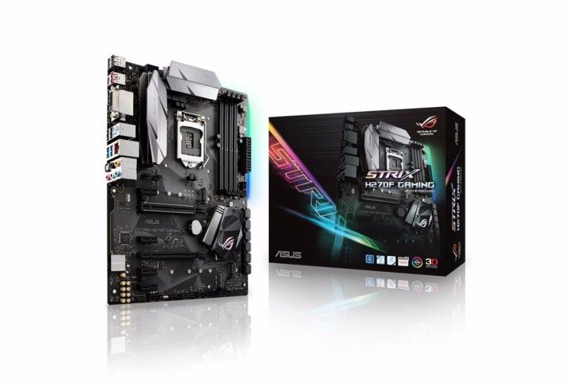 Asus Intel STRIX H270F GAMING LGA 1151 ATX Motherboard
