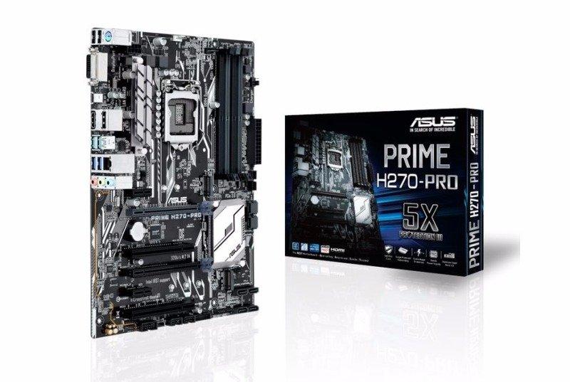 Asus Intel PRIME H270PRO LGA 1151 ATX Motherboard