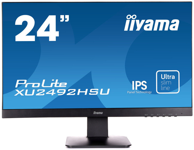 "Iiyama Prolite XU2492HSU-B1 24"" IPS Monitor"