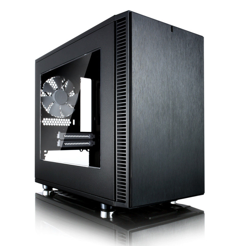 Fractal Design Define Nano S ITX-Tower Case - Window