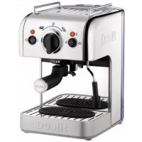 Dualit 1250W 3 in 1 Coffee Machine Polished Stainless Steel