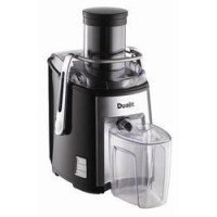 Dualit 1200W 2.2 Litre Heavy Duty Juice Extractor Black/Chrome