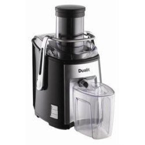 Dualit 1200W 2.2 Litre Heavy Duty Juice Extractor Black/Chrome