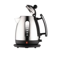 Dualit  1.5 Litre Jug Kettle Stainless Steel with Black Trim