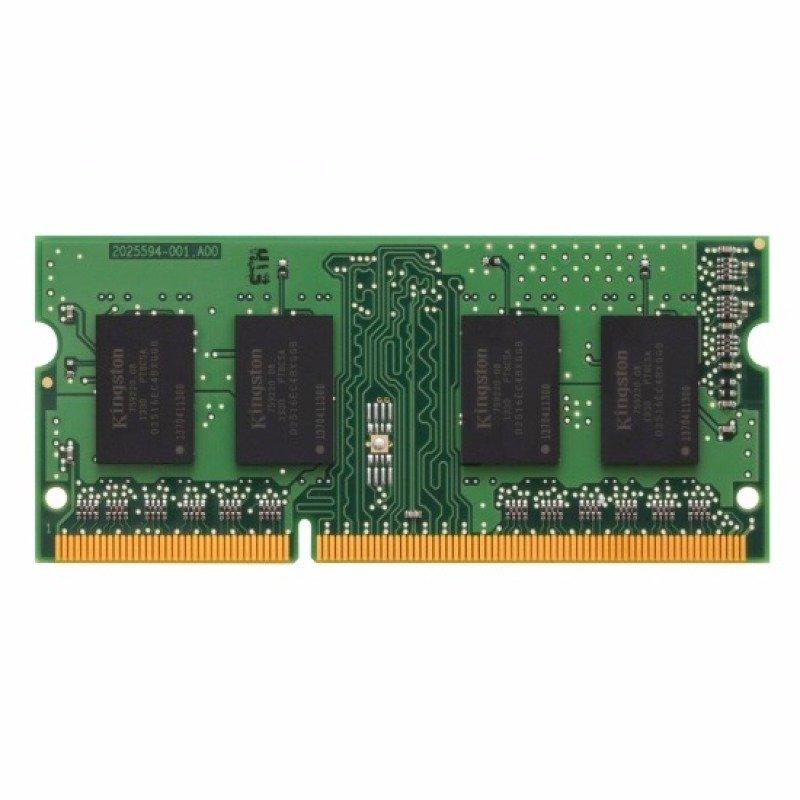 Kingston 4GB 1333MHz 204-Pin CL9 DDR3 SODIMM Non-ECC Unbuffered 1.5V Memory